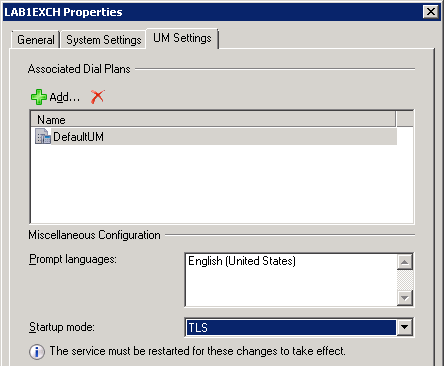Lync and Exchange UM Integration : Jeff Schertz's Blog