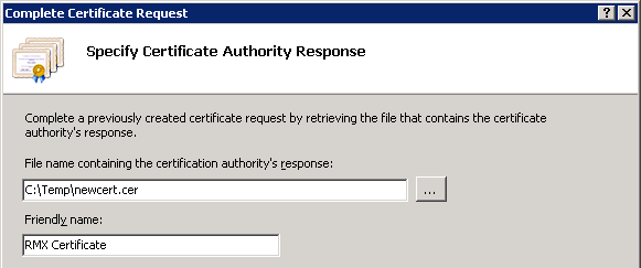 Certificate requests in windows server 2008 jeff schertzs blog view the properties of the new certificate and this time the general information will indicate that the private key has successfully been linked to the new yadclub Images