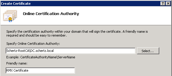 Certificate requests in windows server 2008 jeff schertzs blog click finish and if successful the new certificate will almost immediately appear in the server list yadclub Images