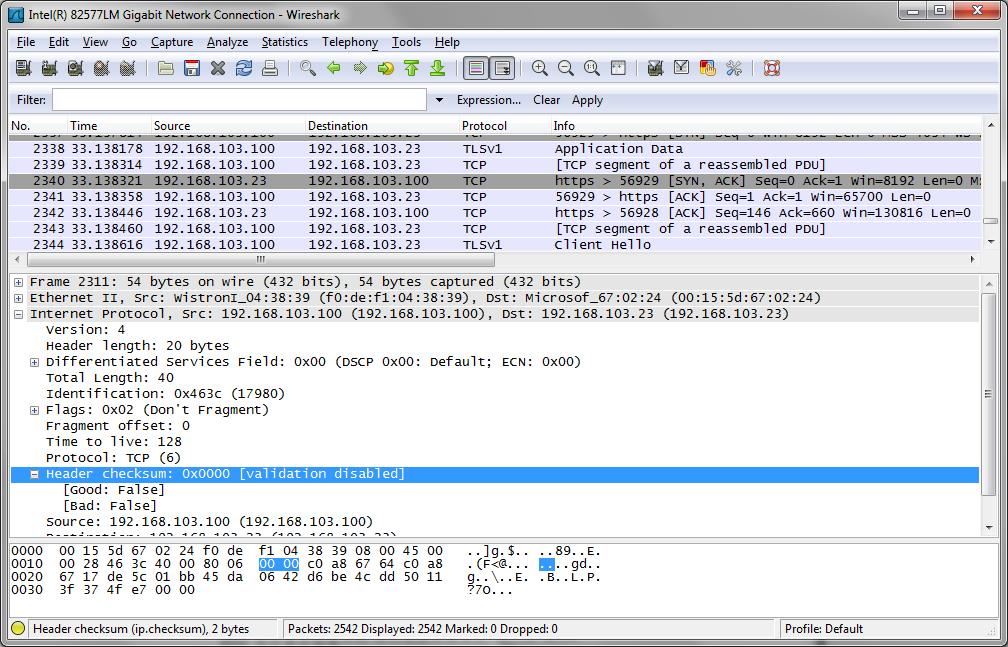 Wireshark Capture Tips : Jeff Schertz's Blog