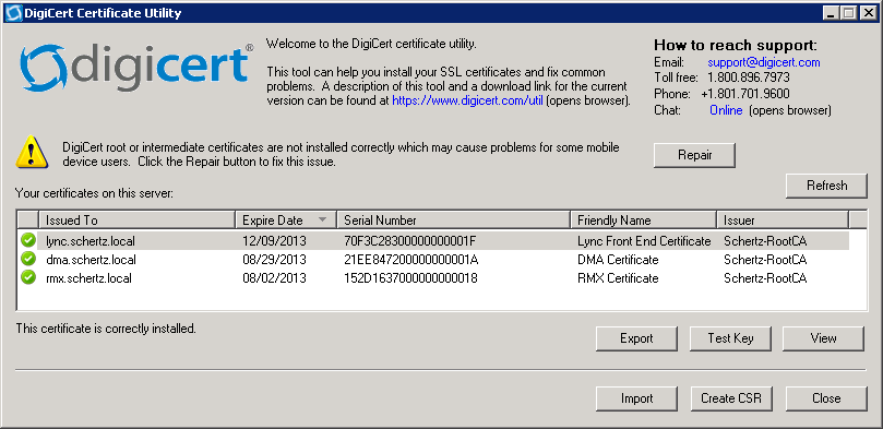 Simple Certificate Requests in Lync : Jeff Schertz\'s Blog