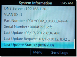 Troubleshooting Lync Phone Edition Issues : Jeff Schertz's Blog