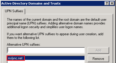 once this is defined then it will appear as a choice for all user accounts in the domain and can be selected in the active directory users and computer