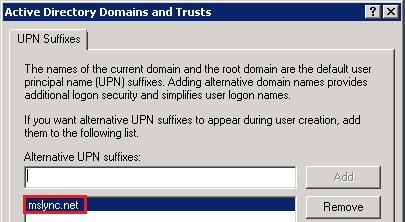 Understanding Active Directory Naming Formats : Jeff