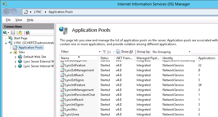 Lync server 2013 deployment part 2 also check the installed services by running the services control panel applet servicesc they will not yet be running as server certificates must be yadclub Images