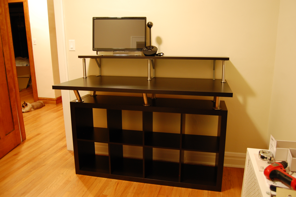 Home Office Standing Desk : Jeff Schertz's Blog