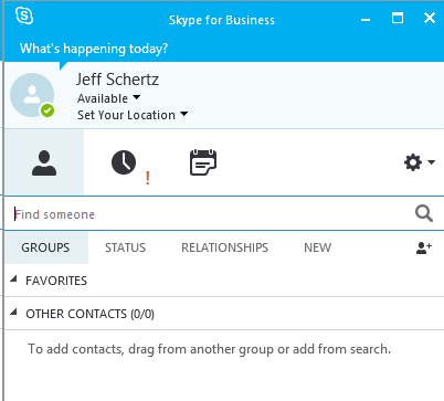 Skype for Business Server 2015 Deployment – Part 3 : Jeff