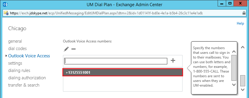 Skype for Business and Exchange UM Integration : Jeff Schertz's Blog