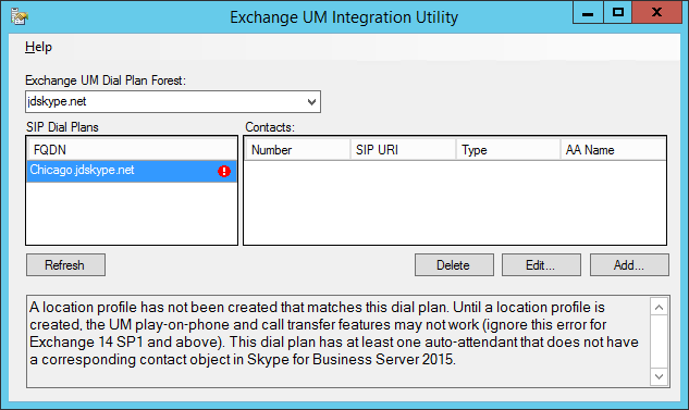 Skype for Business and Exchange UM Integration : Jeff Schertz\'s Blog