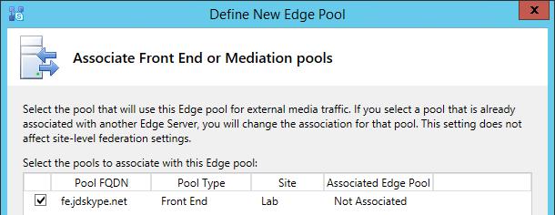 Skype for Business 2015 Edge Server Deployment : Jeff
