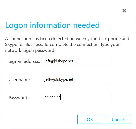 Polycom Phones with Skype for Business Online : Jeff