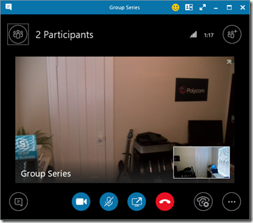 Polycom Group Series with Skype for Business Server : Jeff