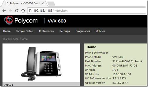 Polycom UCS 5 7 for VVX Phones : Jeff Schertz's Blog