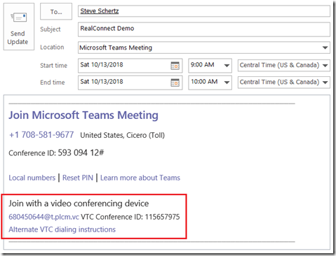 RealConnect Service for Skype and Teams : Jeff Schertz's Blog