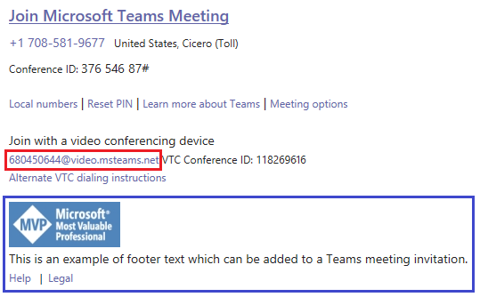 Customizing Microsoft Teams Meeting Invitations : Jeff